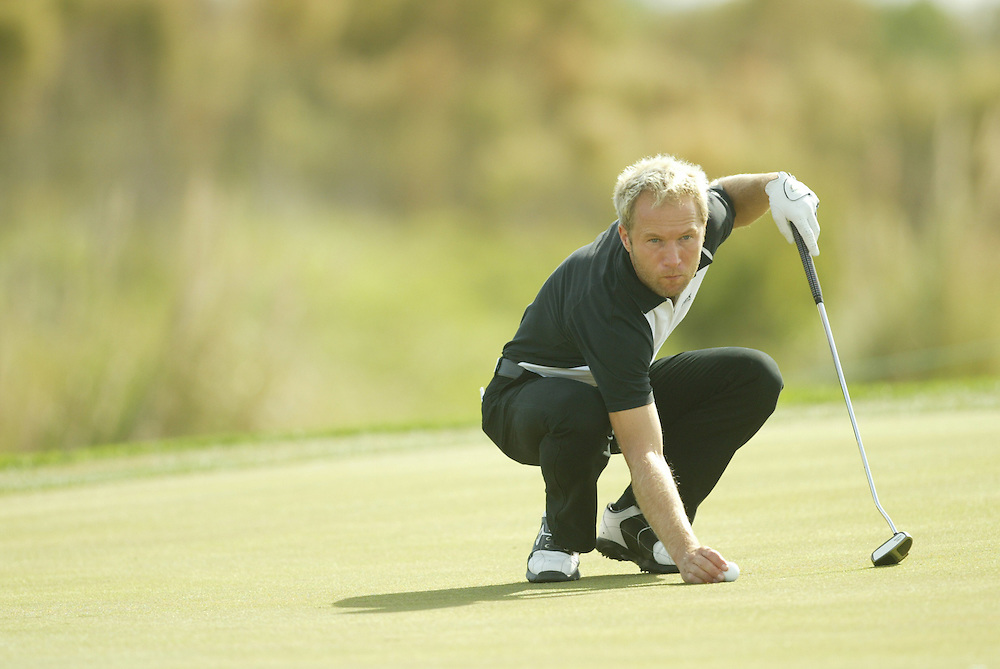 Per-Ulrik Johansson..2003 PGA Tour Qualifying, Final Stage.First Round.Orange County National GC.Orlando, FL.Wednesday, December 3  2003..Photograph by Darren Carroll..
