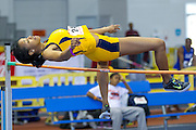 North Carolina A&T freshmen Nakita Gray during the 2013 MEAC Men's and Women's Indoor Track and Field Championships at the Prince George's Sports and Learning Complex in Landover, Maryland.  February 15, 2013  (Photo by Mark W. Sutton)