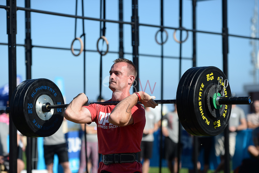 Mens Event 1, Day 1, Fittest in Cape Town 2015, Cape Town, South Africa. Photo by @rubywolff