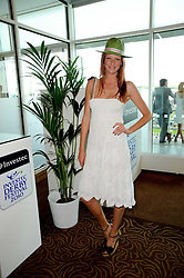OLIVIA INGE at the Investec Ladies Day at Epsom Racecourse, Surrey on 4th June 2010.