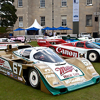 #67 Porsche 962: 1988/89, Chassis number: 962-108 CO2 Miller High Life & B.F Goodrich THE 1989 DAYTONA 24 HOURS OVERALL WINNER and 2nd in 1988 - starting from pole. The 1989 Porsche Cup and Palm Beach GP winner, achieving the 50th race win for the 962 (Salon Privé, London 24 June 2011)