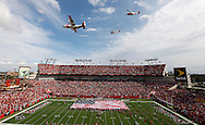 NOVEMBER 22, 2009, TAMPA, FLORIDA: Flyover of the Tampa Bay Buccaneers against the New Orleans Saints at Raymond James Stadium in Tampa, Florida on November 22, 2009. The Buccaneers lost 38-7. Photo by Mike Carlson/Tampa Bay Buccaneers