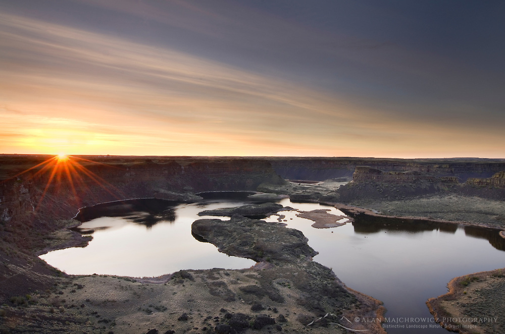 Sunrise, Sun Lakes-Dry Falls State Park, Columbia Plateau Washington