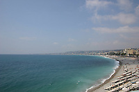 Seafront Promenade des Anglais Nice France