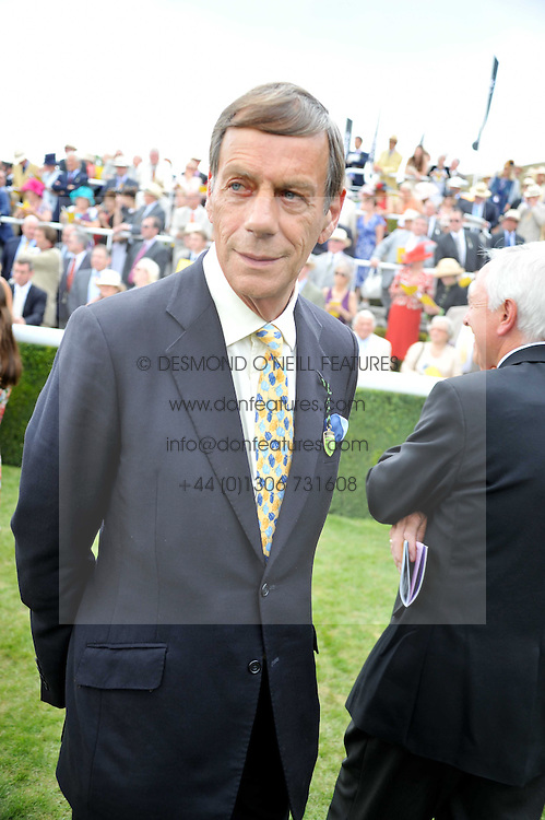 SIR HENRY CECIL at the 3rd day of the 2011 Glorious Goodwood Racing Festival - Ladies Day at Goodwood Racecourse, West Sussex on 28th July 2011.
