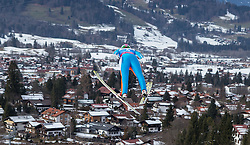 30.01.2016, Normal Hill Indiviual, Oberstdorf, GER, FIS Weltcup Ski Sprung Ladis, Bewerb, im Bild Eva Logar (SLO) // Eva Logar of Slovenia during her Competition Jump of FIS Ski Jumping World Cup Ladis at the Normal Hill Indiviual, Oberstdorf, Germany on 2016/01/30. EXPA Pictures © 2016, PhotoCredit: EXPA/ Peter Rinderer