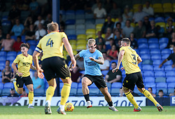 Stephen Humphrys of Southend United runs at the Millwall defence - Mandatory by-line: Arron Gent/JMP - 24/07/2019 - FOOTBALL - Roots Hall - Southend-on-Sea, England - Southend United v Millwall - pre season friendly