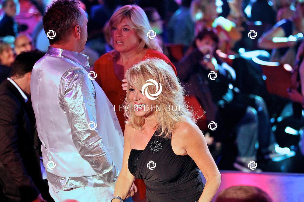 HILVERSUM - In Studio24 is de eerste Live Show van Hollands Got Talent geweest. Met op de  foto jurylid Patricia Paaij. FOTO LEVIN DEN BOER - PERSFOTO.NU