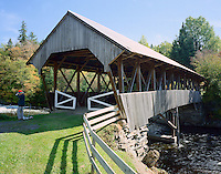 Pittsburg-Clarksville Covered Bridge, South of Pittsburg, NH