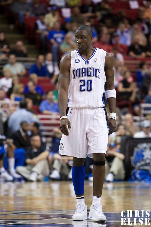 NBA - ORLANDO (USA) - 06/11/2008 -  .ORLANDO MAGIC V PHILADELPHIA SIXERS (98-88) - MICKAEL PIETRUS / ORLANDO MAGIC