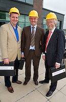 at Rheumatology Toolbox : Rheumatology for General Practice Conference at the Radisson Blu Hotel , Galway. Photo:Andrew DownesDr. John Carey, Dr. Ronan Kavanagh and Dr. Bobby Coughlan see the fuuny side of the toolbox props  at Rheumatology Toolbox : Rheumatology for General Practice Conference at the Radisson Blu Hotel , Galway. Photo:Andrew Downes