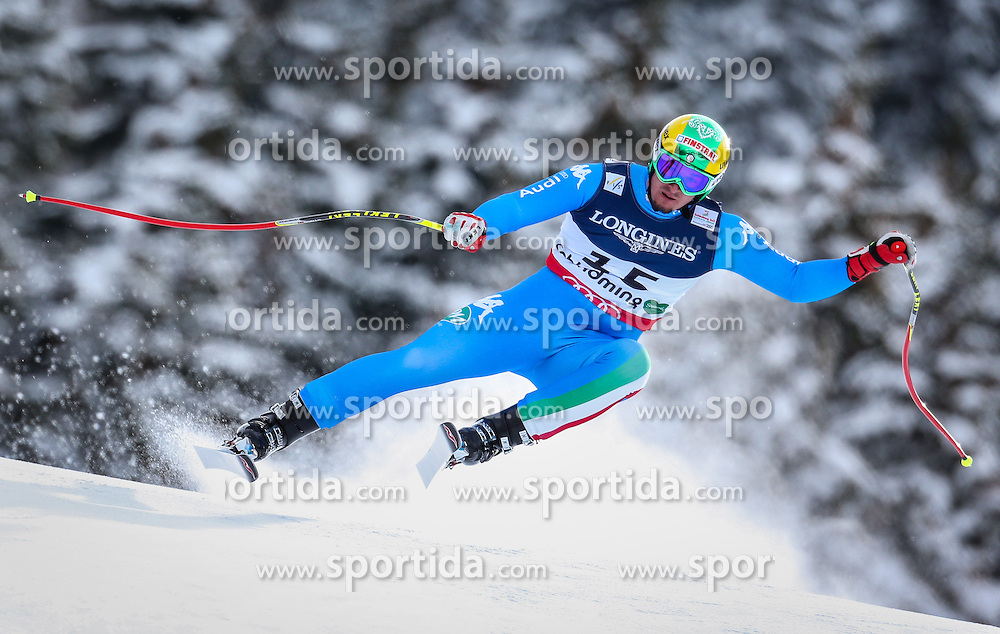 11.02.2013, Planai, Schladming, AUT, FIS Weltmeisterschaften Ski Alpin, Super Kombination, Abfahrt, Herren, im Bild  Dominik Paris (ITA) // Dominik Paris of Italy  in action during Mens Super Combined Downhill at the FIS Ski World Championships 2013 at the Planai Course, Schladming, Austria on 2013/02/11. EXPA Pictures © 2013, PhotoCredit: EXPA/ Johann Groder