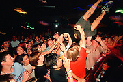 Hardcore/Metal band crowd at The Forum, Kentish Town, London, U.K 2004.