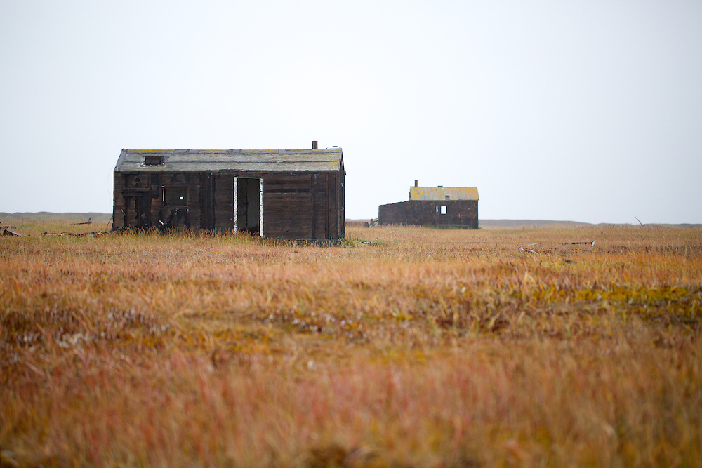 POINT HOPE, AK - 2013: Old Point Hope.