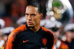 10-10-2019 NED: Netherlands - Northern Ireland, Rotterdam<br /> UEFA Qualifying round Group C match between Netherlands and Northern Ireland at De Kuip in Rotterdam / Virgil van Dijk #4 of the Netherlands
