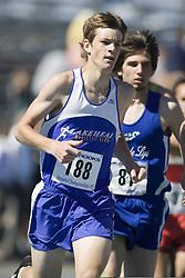 Hill, Thomas competing in the junior boys 1500m at the 2007 OTFA Junior-Senior Championships in Ottawa.