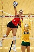 NCAA Volleyball - Ball State Cardinals vs North Dakota State - Muncie, In