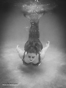 underwater portrait of a young woman as a mermaid by Maisie Williams