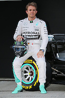 Nico Rosberg (GER) Mercedes AMG F1 W06.<br /> Formula One Testing, Day One, Sunday 1st February 2015. Jerez, Spain.