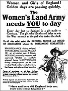 Holding the Home Front<br /> The Women&rsquo;s Land Army in the First World War book by Pen and sward<br /> <br /> Within days of the start of the First World War there were calls for women to come to the fields, but it would be almost three years before the Women&rsquo;s Land Army was established. In that time though, various private and public initiatives would be launched to pull women onto the land. The Women&rsquo;s Land Army would be shaped as much by the successes and failures of these earlier enterprises as by the precise requirements of 1917. It was a process of evolution, not revolution, and agricultural policy had also evolved over the course of the first three years of the war. By the spring of 1917 farmers were being called upon to plough out, to push back the borders and extend the cultivated acreage back to the highs of the 1870s. Agriculture would thus need most labour just as it had least available. Britain&rsquo;s food security had never looked most precarious than it did at the start of 1917.<br /> <br /> Photo Shows: Advert for the Women&rsquo;s Land Army, placed in the press in June and July 1917.<br /> &copy;Pen and sward/Exclusivepix Media