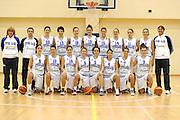 ROMA 27 NOVEMBRE 2011<br /> BASKET NAZIONALE FEMMINILE UNDER 18<br /> NELLA FOTO FOTO DI SQUADRA