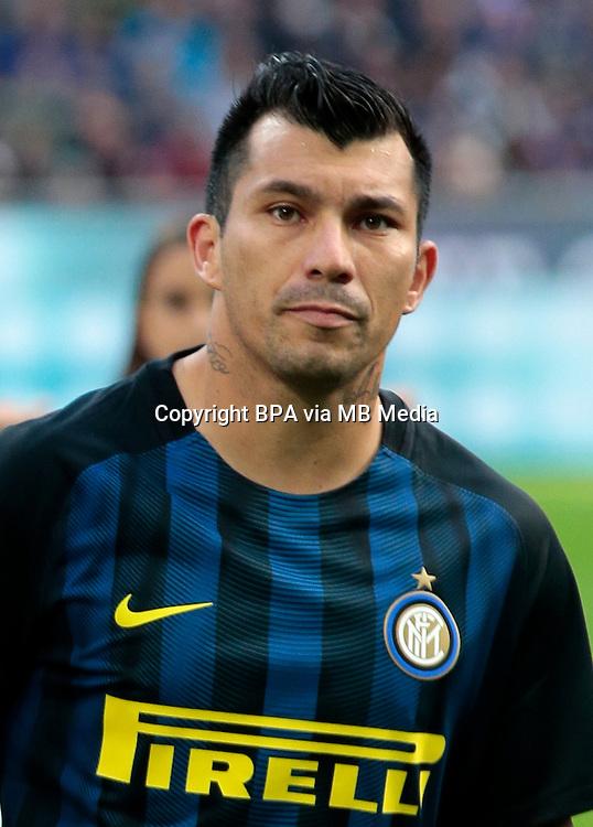 Italian League Serie A -2016-2017 / <br /> ( FC Internazionale ) - <br /> Gary Alexis Medel Soto &quot; Gary Medel &quot;