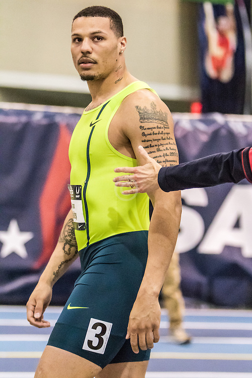 USATF Indoor Track & Field Championships: mens 60, Ryan Bailey