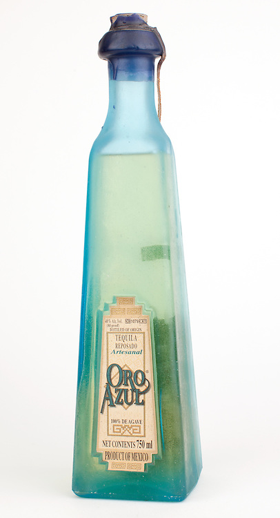 Oro Azul reposado -- Image originally appeared in the Tequila Matchmaker: http://tequilamatchmaker.com