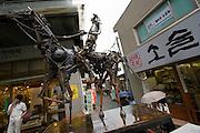 Insa-dong. Robot statue.