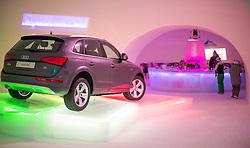 THEMENBILD - Baransicht mit einem Audi Q5, eines Iglus des Ice Camps, aufgenommen am 15. Januar 2015 am Kitzsteinhorn, Kaprun, Österreich. EXPA Pictures © 2014, PhotoCredit: EXPA/ JFK