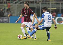 August 3, 2017 - Milan, Italy - Manuel Locatelli during the preliminaries of Europa League 2017/2018 match between Milan v Craiova, in Milan, on august 3, 2017  (Credit Image: © Loris Roselli/NurPhoto via ZUMA Press)