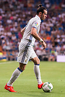 Real Madrid's player Gareth Bale during the XXXVII Santiago Bernabeu Trophy in Madrid. August 16, Spain. 2016. (ALTERPHOTOS/BorjaB.Hojas)