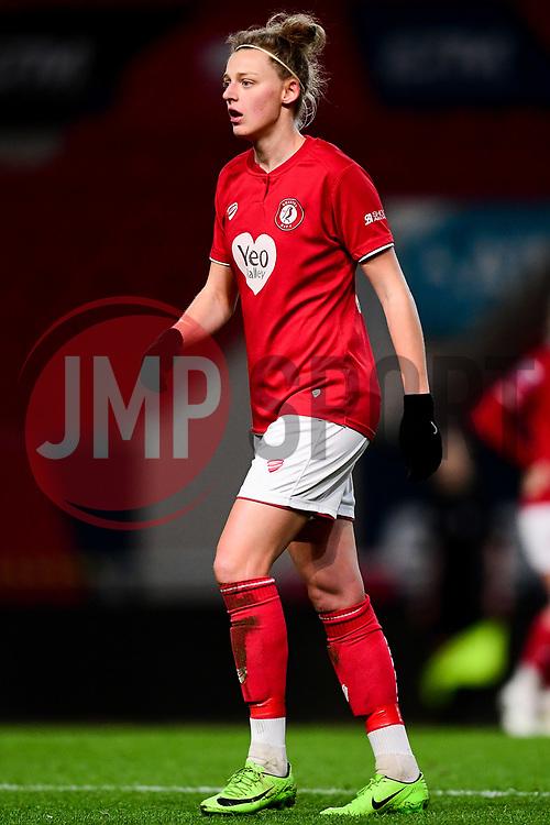 Yana Daniels of Bristol City - Mandatory by-line: Ryan Hiscott/JMP - 17/02/2020 - FOOTBALL - Ashton Gate Stadium - Bristol, England - Bristol City Women v Everton Women - Women's FA Cup fifth round