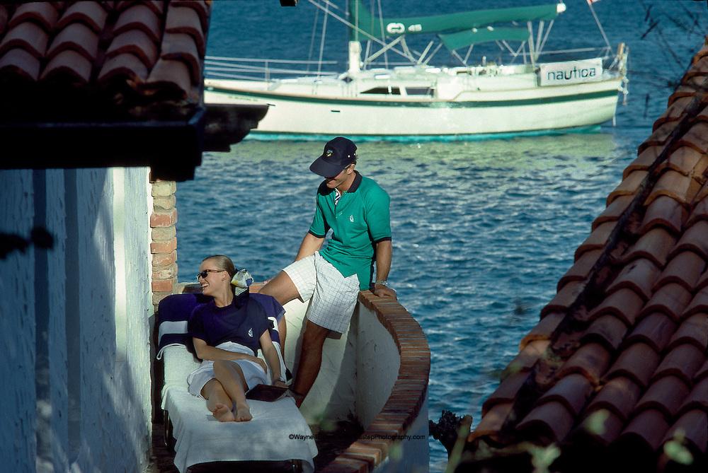 Balcony at Secret Harbour Resort, Mount Hartman Bay, Grenada, West Indies