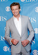 Actor Simon Baker poses at the CBS 2009 Upfronts at Terminal 5 in New York City, USA on May 20, 2009.