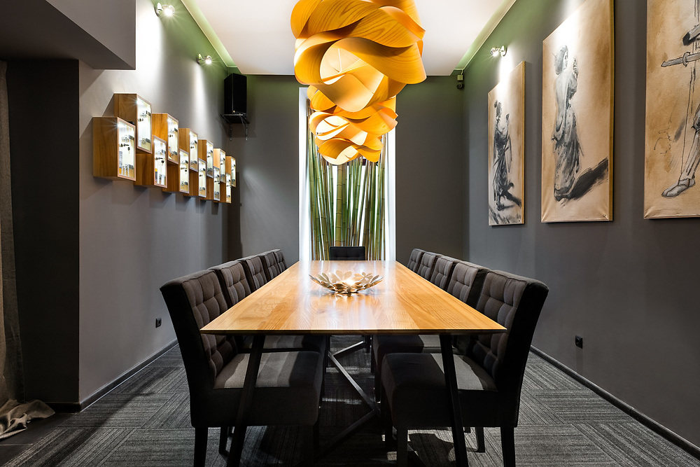 Restauracja NAGO Sushi  |  projekt wnętrza: Karolina Bill