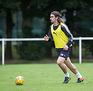 New boy Jon Aurtenetxe during Dundee training at the University Grounds, Riverside, Dundee<br /> <br />  - &copy; David Young - www.davidyoungphoto.co.uk - email: davidyoungphoto@gmail.com