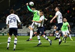 Cardiff City's Sean Morrison challenges Preston North End's John Welsh - Mandatory by-line: Matt McNulty/JMP - 12/09/2017 - FOOTBALL - Deepdale Stadium - Preston, England - Preston North End v Cardiff City - SkyBet Championship