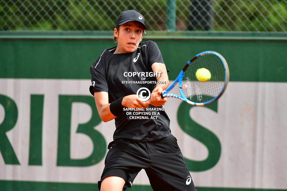 Arthur Cazaux of France (Boys' Tournament) during Day 9 of the French Open 2018 on June 3, 2018 in Paris, France. (Photo by Dave Winter/Icon Sport)