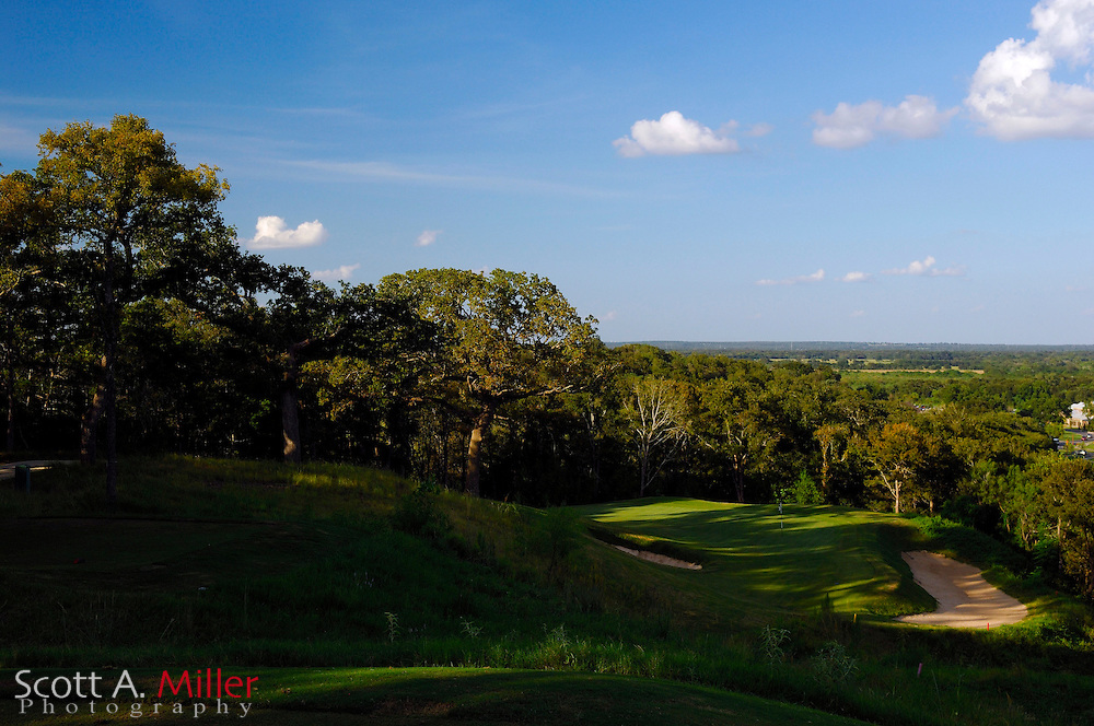 September 8, 2007, Lost Pines, Texas; Hole No. 12 at Wolfdancer Golf Club.....© 2007 Scott A. Miller