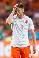 AMSTERDAM - Nederland - USA , Amsterdam ArenA , Voetbal , oefeninterland , 05-06-2015 ,  Nederlands elftal speler Klaas Jan Huntelaar