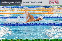 HUOT Benoit CAN at 2015 IPC Swimming World Championships -  Men's 400m Freestyle S10