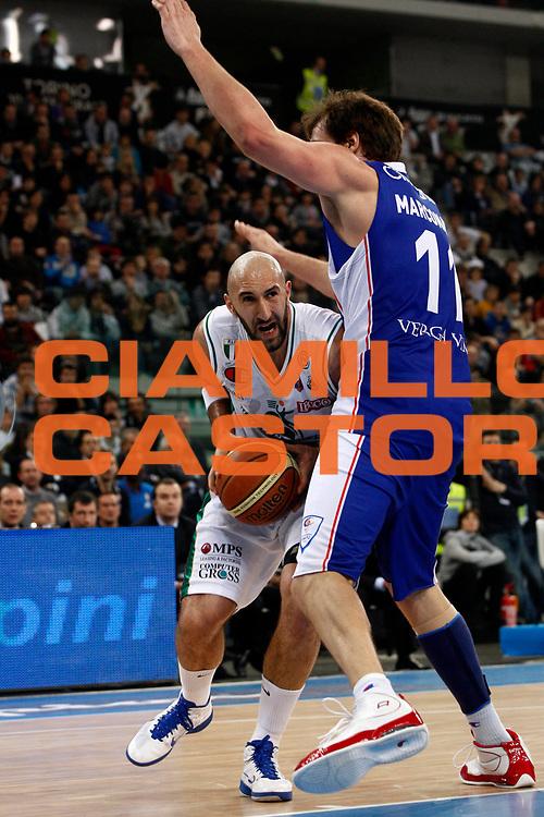 DESCRIZIONE : Torino Coppa Italia Final Eight 2011 Finale Montepaschi Siena Bennet Cantu<br /> GIOCATORE : Milovan Rakovic<br /> SQUADRA : Montepaschi Siena<br /> EVENTO : Agos Ducato Basket Coppa Italia Final Eight 2011<br /> GARA : Montepaschi Siena Bennet Cantu<br /> DATA : 13/02/2011<br /> CATEGORIA : penetrazione<br /> SPORT : Pallacanestro<br /> AUTORE : Agenzia Ciamillo-Castoria/P.Lazzeroni<br /> Galleria : Final Eight Coppa Italia 2011<br /> Fotonotizia : Torino Coppa Italia Final Eight 2011 Finale Montepaschi Siena Bennet Cantu<br /> Predefinita :