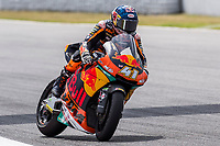 Brad Binder of South Africa and Redbull KTM Team rides during free practice for the Moto2 of Catalunya at Circuit de Catalunya on June 9, 2017 in Montmelo, Spain.(ALTERPHOTOS/Rodrigo Jimenez)