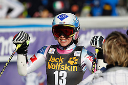 21.02.2015, Pohorje, Maribor, SLO, FIS Weltcup Ski Alpin, Maribor, Riesenslalom, Damen, 2. Lauf, im Bild Tina Weirather (LIE) // Tina Weirather of Lichtenstein after the 2nd run of ladie's Giant Slalom of the Maribor FIS Ski Alpine World Cup at the Pohorje in Maribor, Slovenia on 2015/02/21. EXPA Pictures © 2015, PhotoCredit: EXPA/ Erwin Scheriau