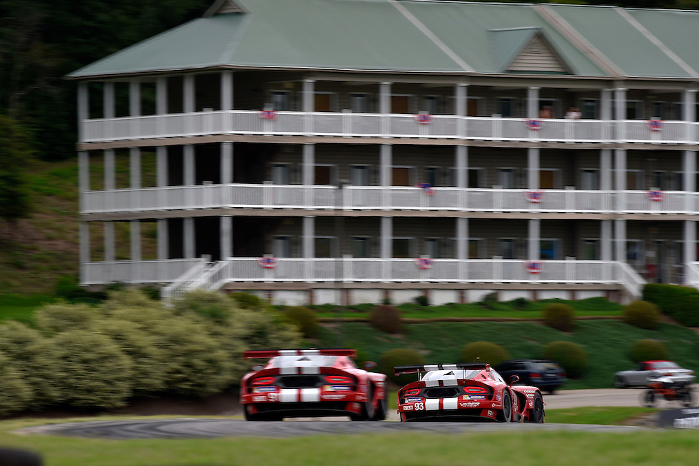 22-24 August 2014, Alton, Virginia USA<br /> 91, Viper V10, SRT GTS-R, GTLM, Dominik Farnbacher, Marc Goossens ,93, Viper V10, SRT GTS-R, GTLM, Jonathan Bomarito, Kuno Wittmer<br /> &copy;2014, Scott R LePage <br /> LAT Photo USA