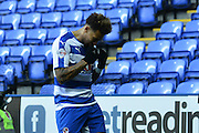 Reading FC midfielder Danny Williams celebrates his goal during the Sky Bet Championship match between Reading and Blackburn Rovers at the Madejski Stadium, Reading, England on 3 December 2015. Photo by Mark Davies.