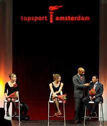 13-12-2010 ALGEMEEN: TOPSPORT GALA AMSTERDAM: AMSTERDAM<br /> In de Westergasfabriek werd het gala van de beste sportman, -vrouw, coach en ploeg gekozen / Yvonne Hak en Esme Vermeulen<br /> ©2010-WWW.FOTOHOOGENDOORN.NL