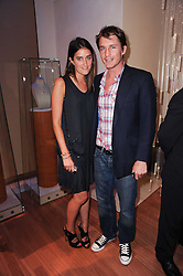 VIOLET VON WESTENHOLZ and CHARLIE GREEN at a party to celebrate the B.zero 1 design by Anish Kapoor held at Bulgari, 168 New Bond Street, London n 2nd June 2010.