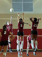 St Paul's School varsity Volleyball team October 17, 2012